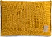 Knit Factory Jesse Kussen - Oker 60 x 40 cm