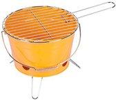 Steel Bucket Barbeque