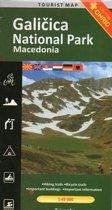Wandelkaart / MTB-kaart Galicica, Macedonie