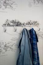 Rivièra Maison Coatrack La Vita è Bella - Ophanghaken - Aluminium