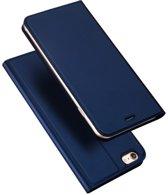 Apple iPhone 6 | 6S Plus Hoesje Blauw met Luxe Uitstraling