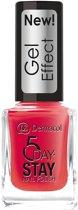 Dermacol 5 Day Stay Nail Polish Gel Effect 12ml W 28 Moulin Rouge