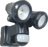 ELRO LT3510P 2-Kops LED Buitenlamp met Bewegingsse