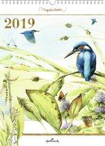 Hallmark maandkalender XL 'Marjolein Bastin • ijsvogel' 2019