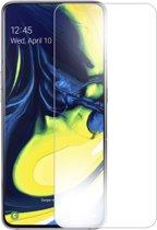 MMOBIEL Samsung Galaxy A80 / A805 Glazen Screenprotector Tempered Gehard Glas 2.5D 9H (0.26mm) - inclusief Cleaning Set