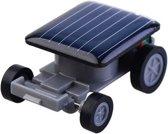 GadgetBay Zwarte speelgoed auto op zonne-energie Solar Powered car autootje