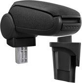[pro.tec]® Armsteun-Seat Leon 1P-2005-2012-stof-zwart
