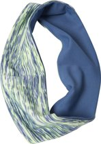 Natural fitness Premium haarband - blauw
