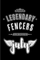 Legendary Fencers are born in July