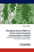 Changing Access Rights in Some Cocoa Growing Communities in Ghana