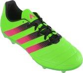 adidas ACE 16.2 FG/AG  Voetbalschoenen - Maat 41 1/3 - Mannen - groen/roze/zwart
