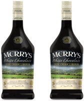Merry's White Chocolate - 70 cl- 2-pack