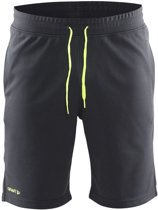 Craft In-The-Zone Sweatshort men asphalt 3xl