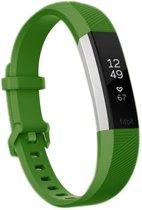 HIPFIT Siliconen bandje - Fitbit Alta (HR) - Leger groen - Large