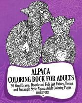 Alpaca Coloring Book for Adults
