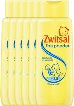 Zwitsal Talkpoeder  Baby - 6 Stuks - Voordeelverpakking