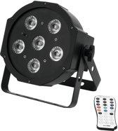 EUROLITE LED SLS-6 Blacklight vloer - LED Par - Flat Par