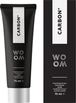 Woom tandpasta Carbon + 75ml.