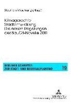 Klimagerechte Stadtentwicklung - Die Neuen Regelungen Der Baugb-Novelle 2011