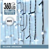 DecorativeLIghting IJspegel Kerstverlichting  - 12 meter - 360 LED's - wit