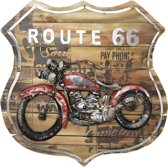 Wanddecoratie (Motor) 60*60*5.5 cm Multi | JJWA00011 | Clayre & Eef