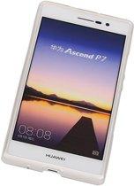 Wicked Narwal | TPU Hoesje voor Huawei Huawei Ascend P7 met verpakking Wit