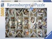 Ravensburger puzzel De Sixtijnse Kapel - Legpuzzel - 5000 stukjes