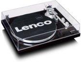 Lenco LBT-188 - Platenspeler met Bluetooth en USB aansluiting - vinyl naar digitaal - Zwart