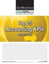 Top 25 Accounting Kpis of 2011-2012
