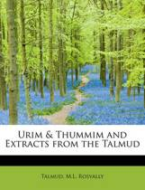 Urim & Thummim and Extracts from the Talmud