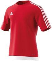 adidas Estro 15 Jersey - Voetbalshirt - Heren - Maat S - Rood/Wit