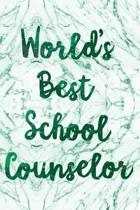 World's Best School Counselor