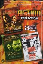 Action Collection vol. 2 bevat de films: The Yin and Yang of Mr. Go, All The Kind Strangers, High Risk (dvd)