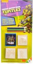 Ninja Turtles Stempels 3 stuks