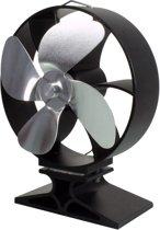 EcoSavers Stove Fan Kachelventilator - ventilator voor houtkachels en speksteenkachels - Rendementsverbetering door horizontale luchtstroom - Geen electriciteit of batterijen benodigd