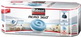 Rubson AERO 360 Navulling Vochtopnemer Vochtvanger Vochtwering - 6 pcs  Neutraal
