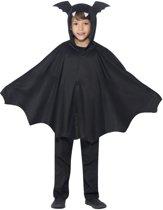 Vleermuis Bat Cape voor kinderen maat 140 tot 164