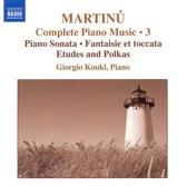 Martinu: Piano Music V.3