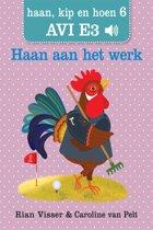 Haan, kip en hoen 6 - Haan aan het werk
