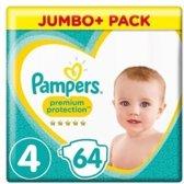 Pampers Baby Luiers Premium Protection Maat 4 - 64 Stuks