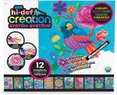 Hi Def Creation System 12 kleurplaten - Landschap thema