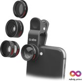 SBS Mobile Universele Camera Lens Kit 5 in 1 voor Smartphone