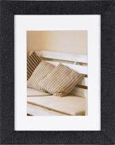 Henzo Driftwood Fotolijst - Fotomaat 18x24 cm - Donker Grijs