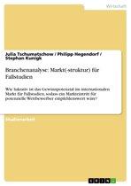 Branchenanalyse: Markt(-struktur) für Fallstudien