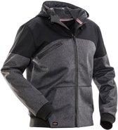 1292 Hooded Softshell Jacket Black 3xl