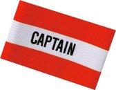 Sportec Aanvoerdersband Captain Junior Rood