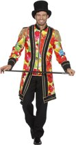 Dans & Entertainment Kostuum | Lange Circus Jas Vol Ballonnen Man | Maat 48 | Carnaval kostuum | Verkleedkleding