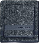 Marc O'Polo Melange  Gastendoek - 30x50 - Grey/white