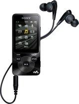 Sony NWZ-E585 Walkman  - MP4-speler - 16 GB - Zwart