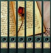 Rugetiket Book and Rose-6